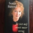 Je ziet mij nooit meer terug – boek van Sonja Barend